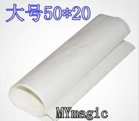 50 x 20 cm Large Flash paper (20pcs/lot) - accessory , coin magic ,fire magic,magic tricks,fire,props,dice,comedy,mental magic