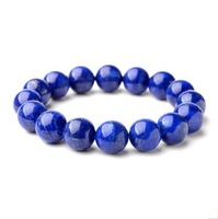 Natural Lapis Lazuli Bracelet in a Thousand Years 8mm Grounding Stone Protection Free Shipping