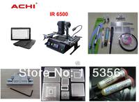 DHL Free shipping Original Dark IR ACHI IR6500 BGA Rework Station with complete reballing accessories