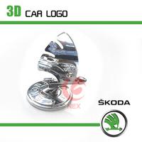 free shipping 2006 2012-2013 skoda Octavia fabia 3d car logo emblem