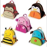 Free shipping designer cute animal backpack kids baby bag student school bag lovey shoulder backpack for girl boy items BP14