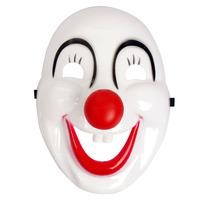 wholesale Halloween Masquerade performance cartoon mask ball clown mask hard PVC 22*16cm Free shipping