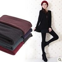 Autumn/winter 2013 show thin thickening and trample feet warm leggings velvet seamless integration pants pants