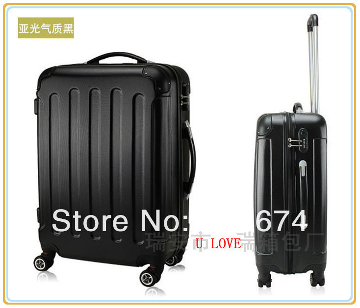 """New! top quality 20""""ABS+PC luggage case rolling luggage draw bar box traveling case trolley bag Free Shipping(China (Mainland))"""