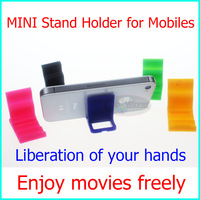 10PCS Per 1 Lot -Universal Stand Holder for iPhone 5, Mobile phone Stand Holder Top Quality Free Shipping with Tracking Number!