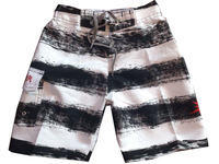 Free Shipping New Arrival Black And White STripe Brand Children Kids Brand Boardshort Do Mix Order Shorts
