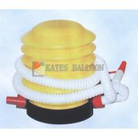 Inflatable tube balloon aluminum foil balloon props supplies
