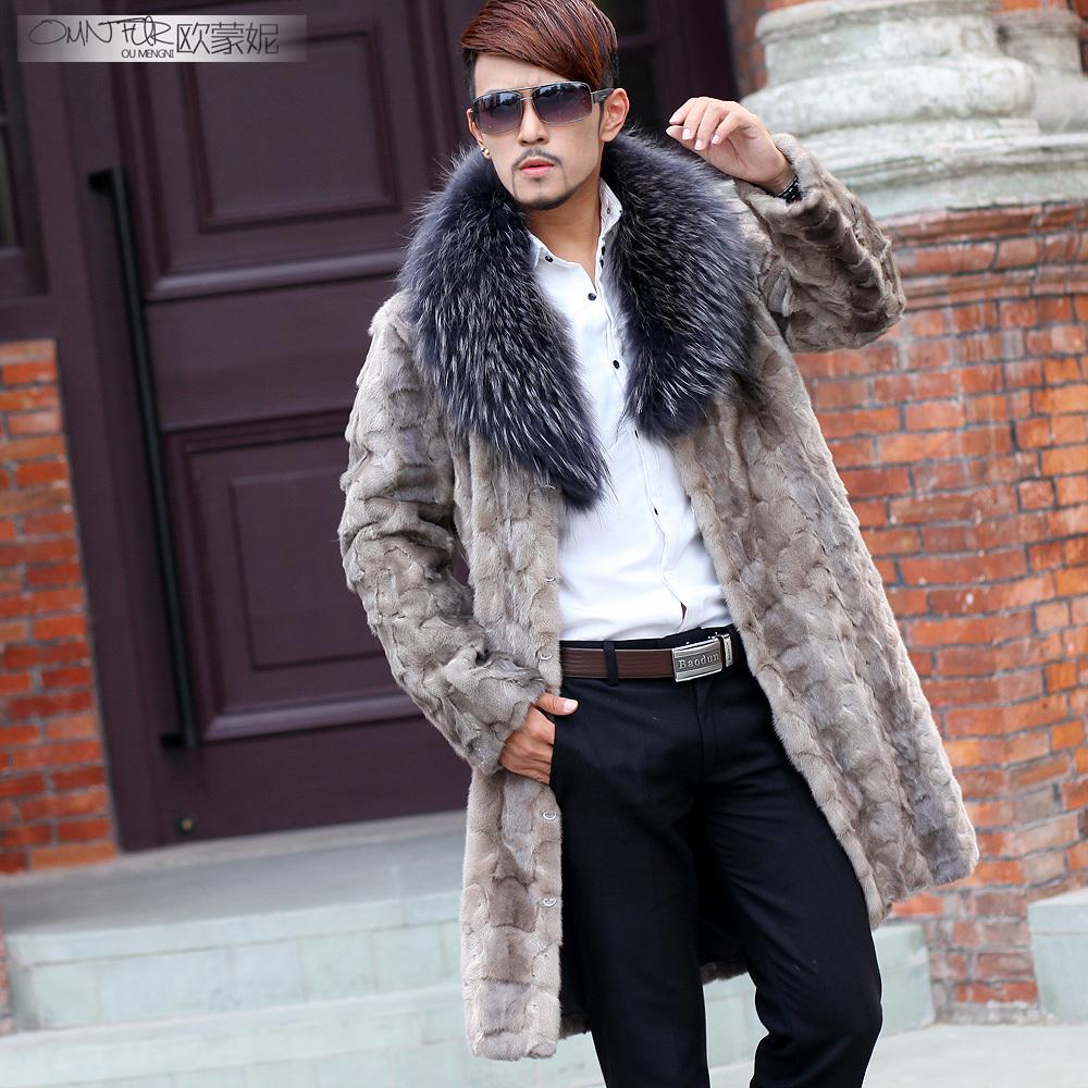 Mens jacket fur - Mens Fur Coats White Tradingbasis