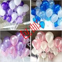 Wedding decoration arch balloon thickening 10 pearlizing balloon
