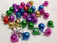 free shipping  JINGLE BELLS~ Mixed Color~Beads Charms 8mm fit for  bracelets necklace