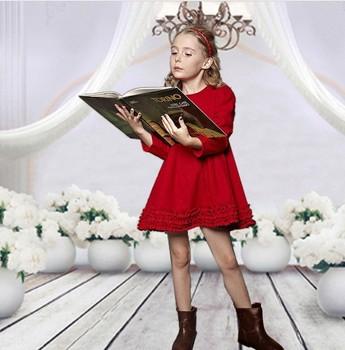girl dresses new fashion 2013/kids christmas clothes/name brand infant clothing/supernova sale Big swing dress/ fashion