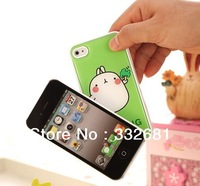 New arrive! cute Potatoes rabbit case for apple phone case ,&for ipine 4 case,1 lot 20 pcs fast shipping!
