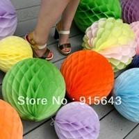 Mixed Sizes 5+8+15+20+25+30cm Lot of 445pcs Tissue Paper Honeycomb Balls Decorations Honeycomb Paper Decorations Christmas