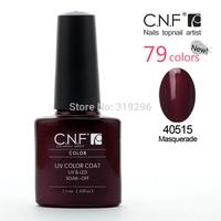(Nail Art UV Lamp  )DHL Free shipping+Sweet Color 40pcs CNF soak off UV & LED nail gel polish(36 colors+2top+2base)
