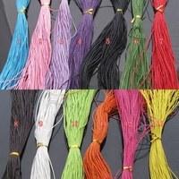 Diy material 1mm wax cord rope necklace rope bracelet 17 90 meters