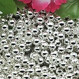 Free shipping,fine DIY manmade metal alloy jewelry findings 2000pieces/lot  6mm