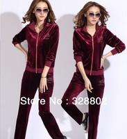 new 2013 Autumn-summer hoodies clothing women winter coat women tracksuit  sweatshirts women's sports suit  XXXL  4XL