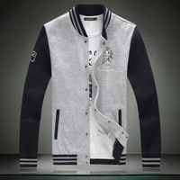 2013 autumn and winter hot-selling plus size extra large size Asia Size M- 5 XL  mens sweatshirt baseball jacket clothings