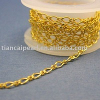 2.5x5.5mm gold plated link chain  Jewelry Findings Accessories Fittings Components