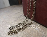 DIY jewelry finding 4mm ancient bronze  chain