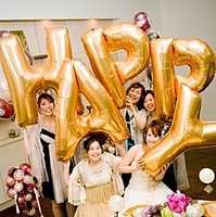 Thickening Large 90cm staphyloccus aluminum balloon letter a z decoration balloon wedding decoration