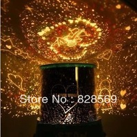 Creative birthday gifts for children toys rotating projection night light music stars stars mail