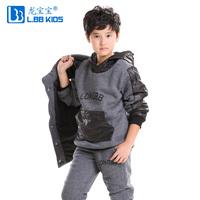 Baby children's clothing male female child autumn and winter 2013 set child sports sweatshirt piece set
