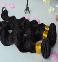 Indian virgin hair Natural Wave (Loose Wave) 3pcs lot Luffy hair products,Grade 5A bundles hair extension,100% unprocessed hair