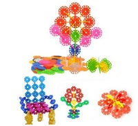 300pcs Wholesale Lots DIY Colorful Creative Sunflower Blocks Kid Educational Toy [HZC002(300)]