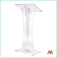 clear acrylic lectern podium for hotel
