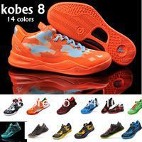 Free Shipping New arrived 14 colors Famous Player KB 8 Newest mens basketball shoes Fashion athletic shoes size 40-46