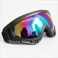 In stock X400 ski glasses&cycling goggles, PC, 100%UVA/UVB protection, ANSI Z87.1 strandard,Colorful