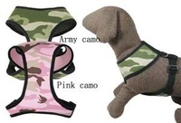 Free shipping! High quality Pet dog harness Camouflage large dogs denim pet supplies chest suspenders