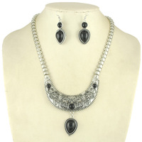Big Chains Statement Necklace Set Whole sale jewelry sets
