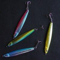 Free shipping, Fishing lure set, Lead fish,Laser, 4color,60g/9.5cm, 10pcs/lot