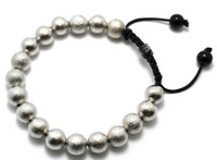 10mm Grey Brass Stardust Spacer Beads shamballa Bracelet Fashion jewelry Free Shipping