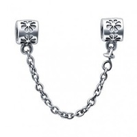 New Arrival Silver Pattern Chains Fit 3MM Charm Bracelet 100pcs/lot mixed free shipping