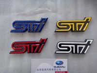 Subaru xv forester sti personalized car stickers red white blue emblem