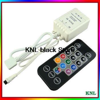 DC12V IR remote 18key RGB led SPI controller suit for TM1803, TM1804, TM1809 , TM1812, UCS1903 ,WS2811 etc, free shipping