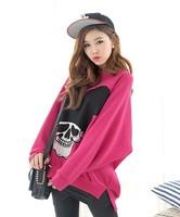 Женские толстовки и Кофты 2013 Winter Women/Men Space print Galaxy hoodies Pullovers panda/tiger/cat animal 3D sport Sweatshirt top L1147