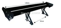 Double Deck Adjustable Aluminum Rear Car Spoiler