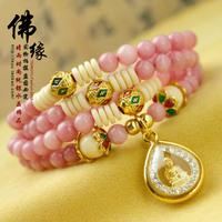Handmade bracelet gold plated beads bracelet series