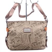 Hot-selling 2013 Women one shoulder cross-body handbag SNOOPY s5177 series