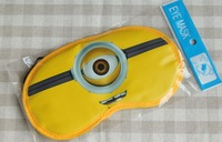 Free Shipping by EMS Wholesale 100pcs/lot 3D Eyes Despicable Me minion goggles