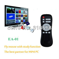 2.4G fly air mouse Wireless Android Remote Gyroscope Mice Control EA-01 with learning function,suitable for MINI PC,media player