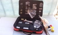 Free shipping, flyfishing manufacturing tool set, Fly hook tied