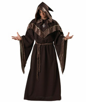 OISK Mystic Sorcerer Men's Carnival Costume Cosplay Halloween Costumes Fancy Party Carnival Costume