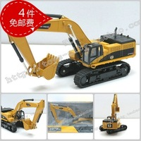 Huayi excavator exquisite gift box toy alloy car model