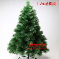 Christmas decoration 180cm white pine christmas tree 1.8 meters pine needle tree Christmas supplies  =sds180-1