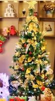 Luxury 2013 2.1 meters green christmas tree bundle 210cm christmas tree decoration  =sds210-1